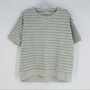 CLOSED Crewneck Striped Sustainable Sweatshirt
